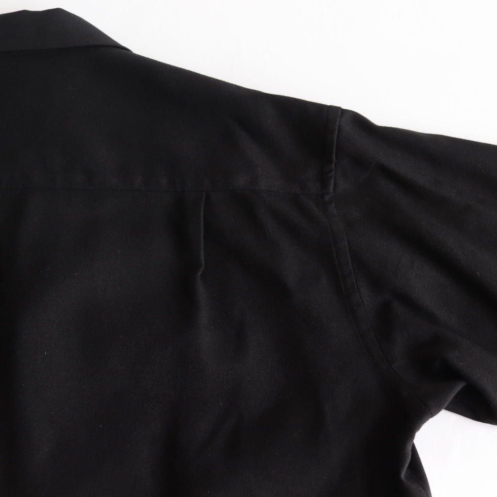 SILK FLANNEL JACKET #BLACK [GM183-20059]