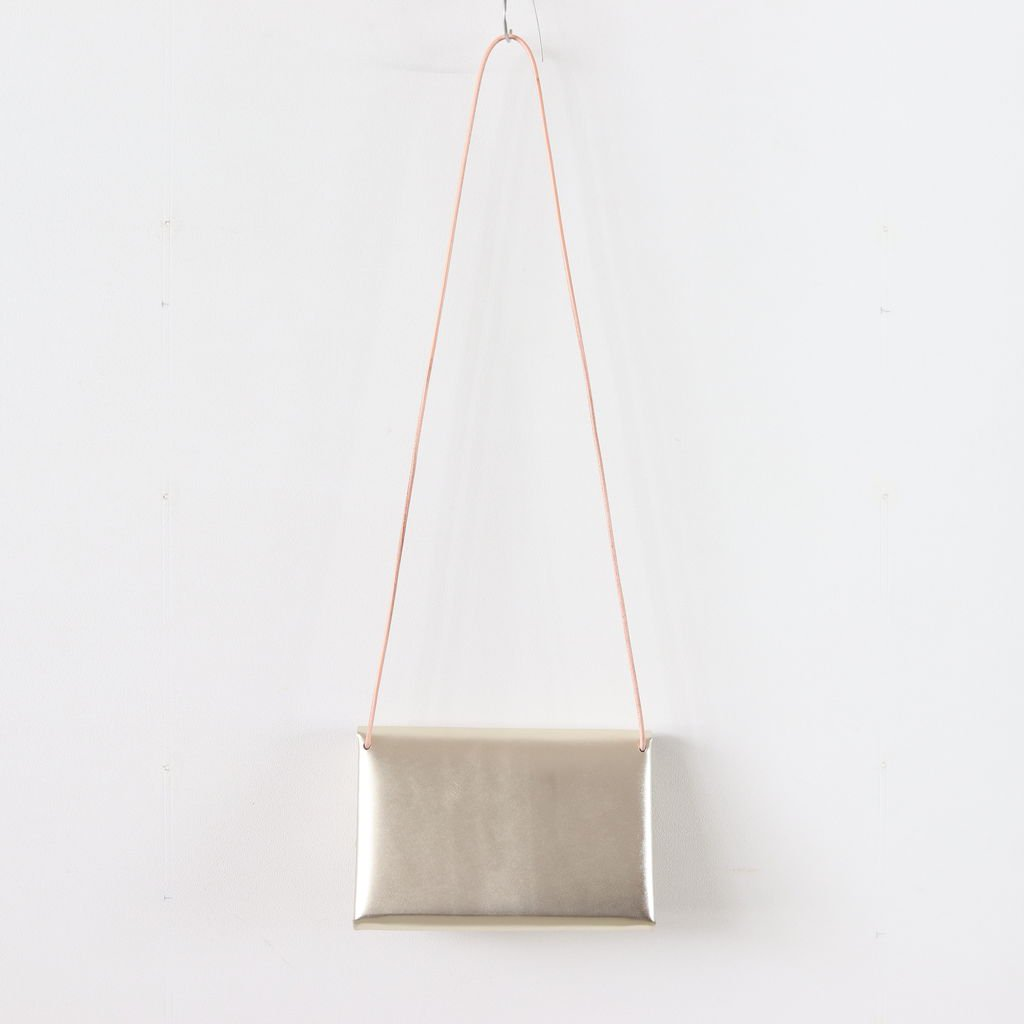 SEAMLESS SHOULDER CASE M #SILVER [BAG-SL09]