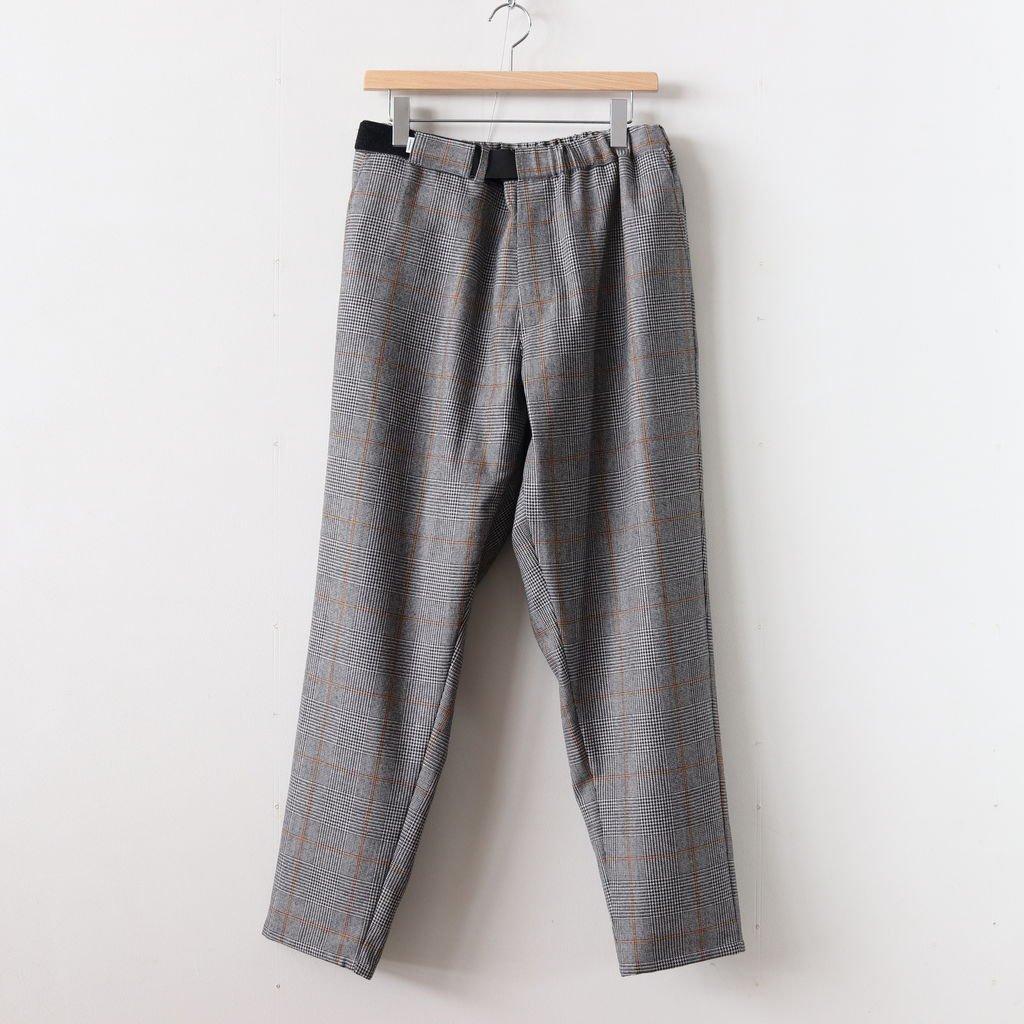 GLENCHECK WOOL COOK PANTS #GLENCHECK [GM184-40507]