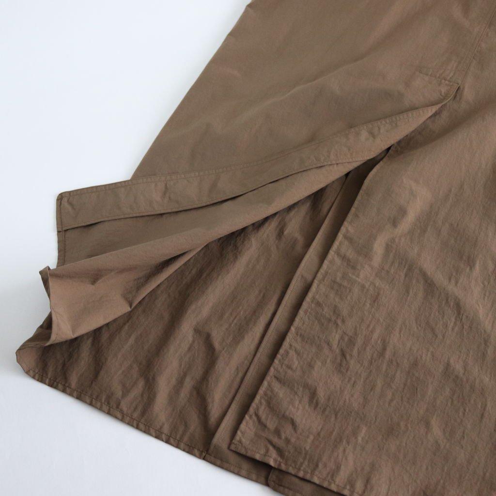 RAIN COAT #BROWN [58554]