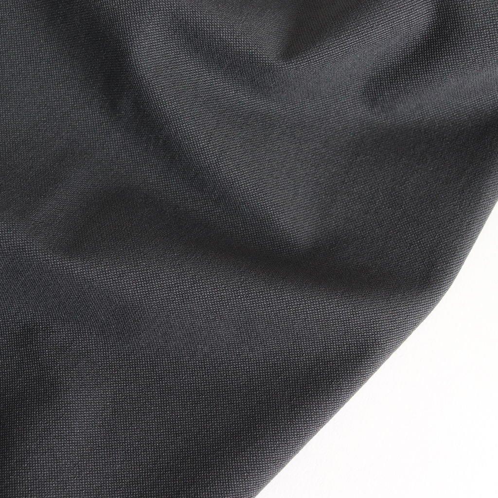 FK2LT|ヘビーナイロンストレッチ鹿の子ニット クルーネックワイドプルオーバー #STEEL GREY [S9-FR042TF]