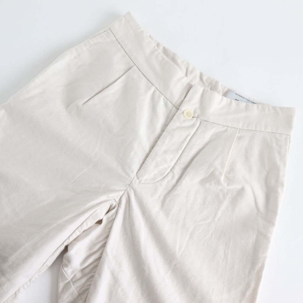 TUCK PANTS #WHITE [98658]