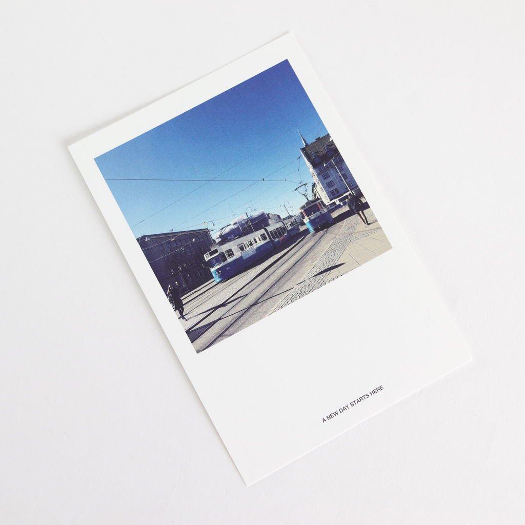 POST CARD TRAM [BAGN5-002]