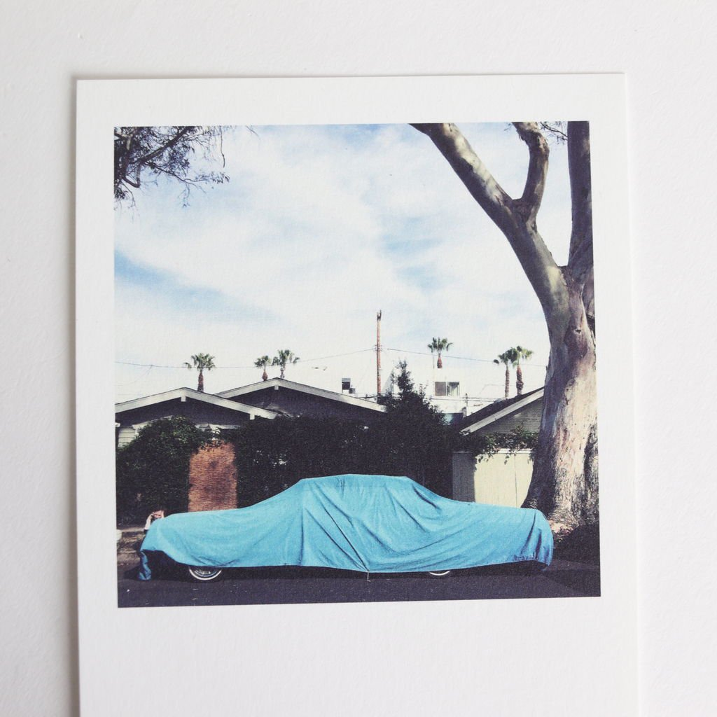 POST CARD COVERED AUTOMOBILE [BAGN5-002]