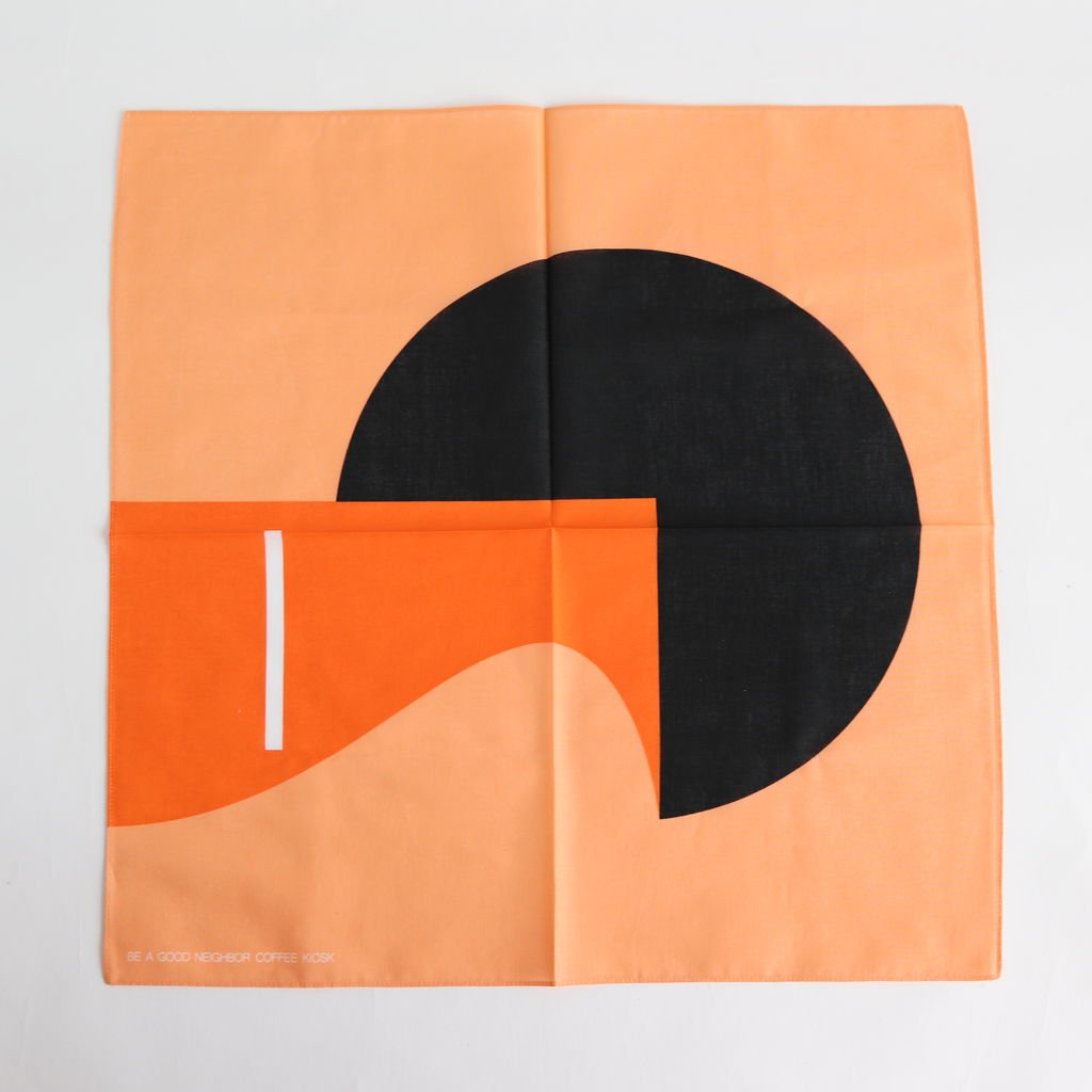 BANDANA ILLUSTED BY ROBBIE SIMON [BAGN5-003]