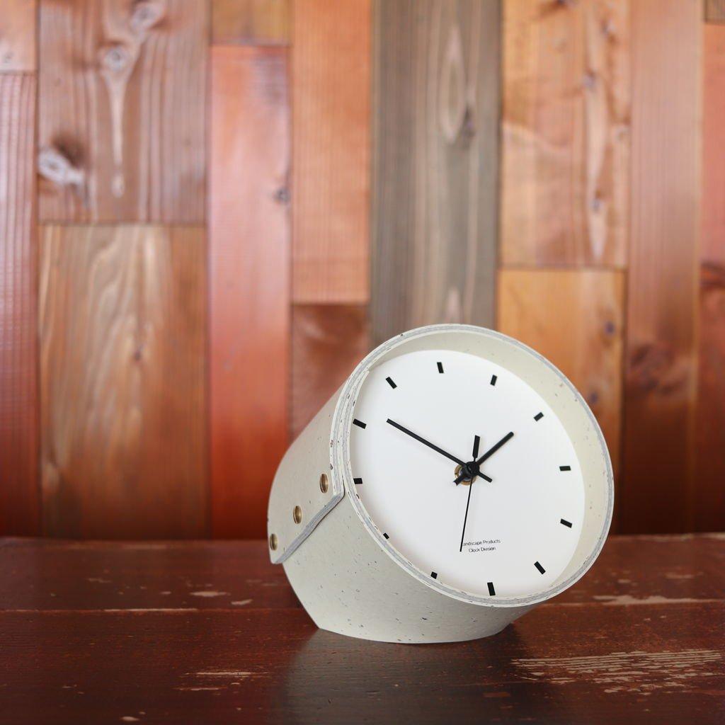 DESK CLOCK #WHITE [LSM-002-01]