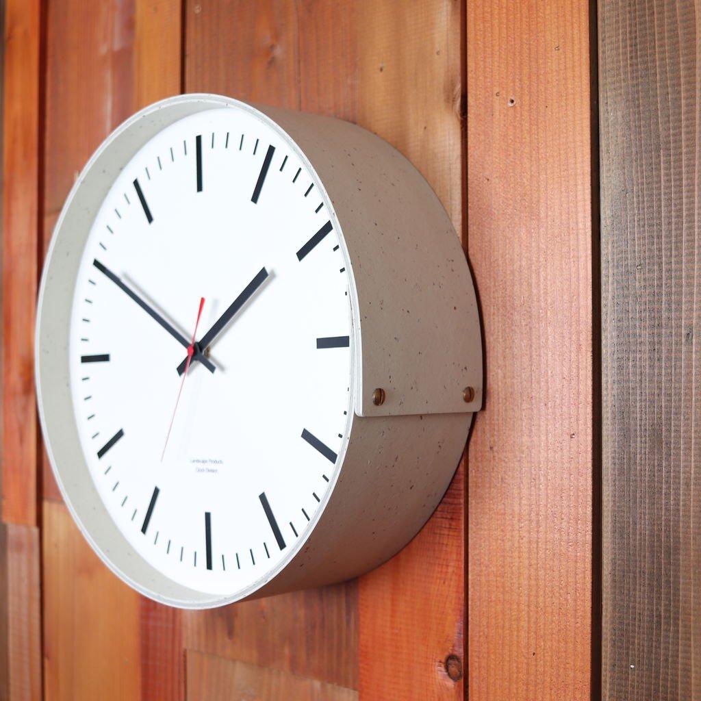WALL CLOCK #WHITE [LSM-001-01]