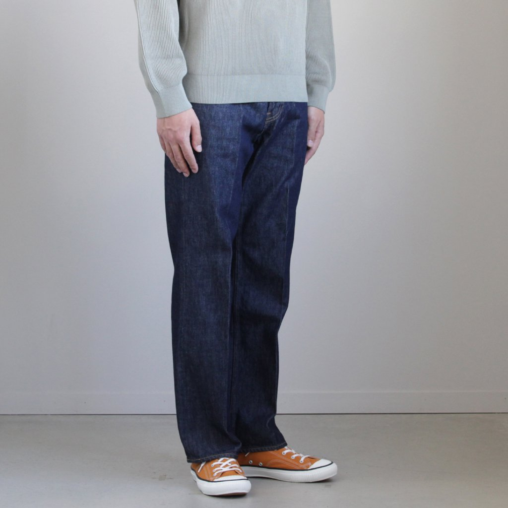 HARD TWIST DENIM 5P PANTS #INDIGO [A9SP01DM]