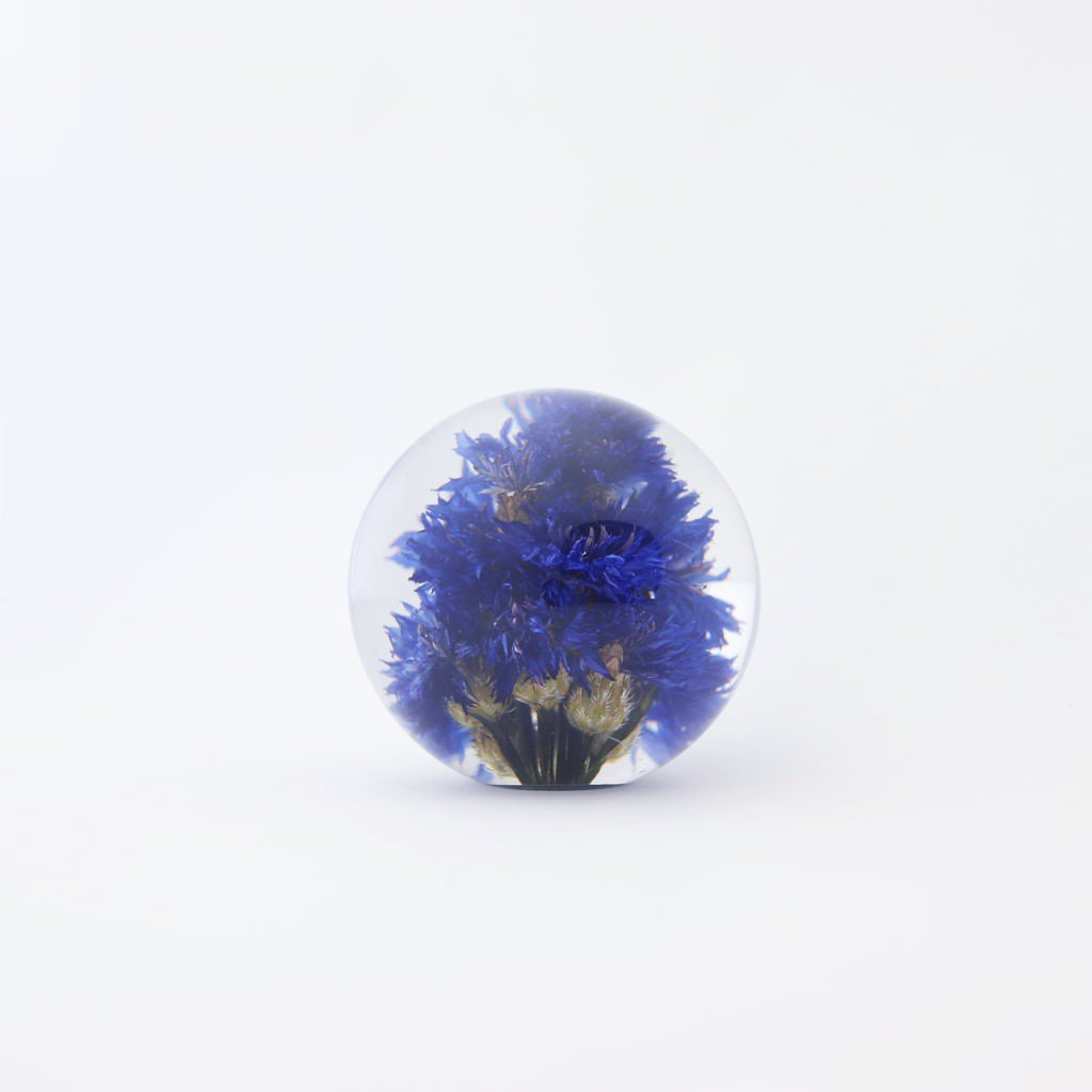 HAFOD GRANGE - PAPER WEIGHT SMALL #CORNFLOWER [HGPW1-005]