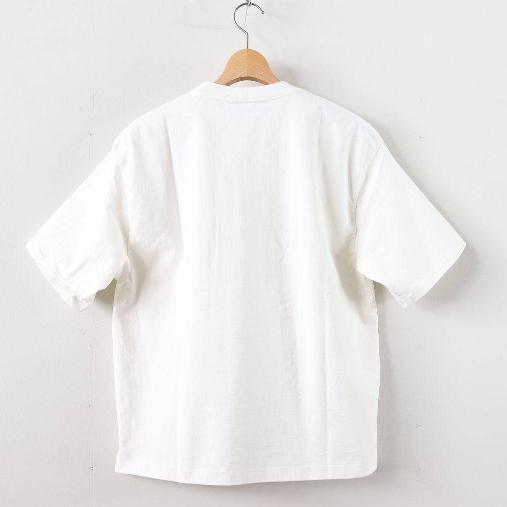 STAND-UP TEE #WHITE [A9ST01SU]