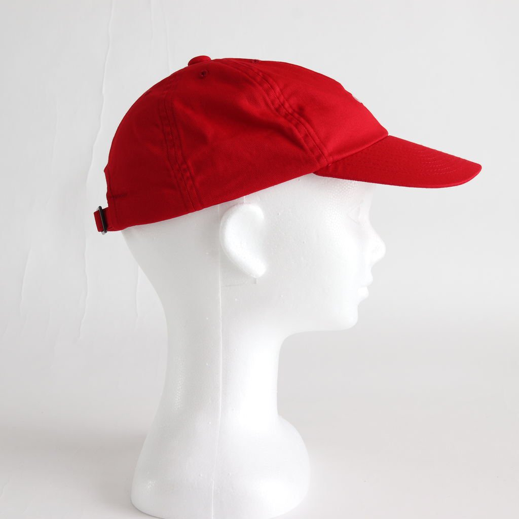 EMBROIDERY CAP #RED [NO.14520]