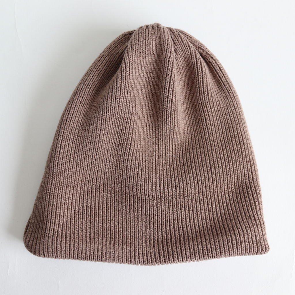 KNIT CAP 2 #BROWN [1901-009]