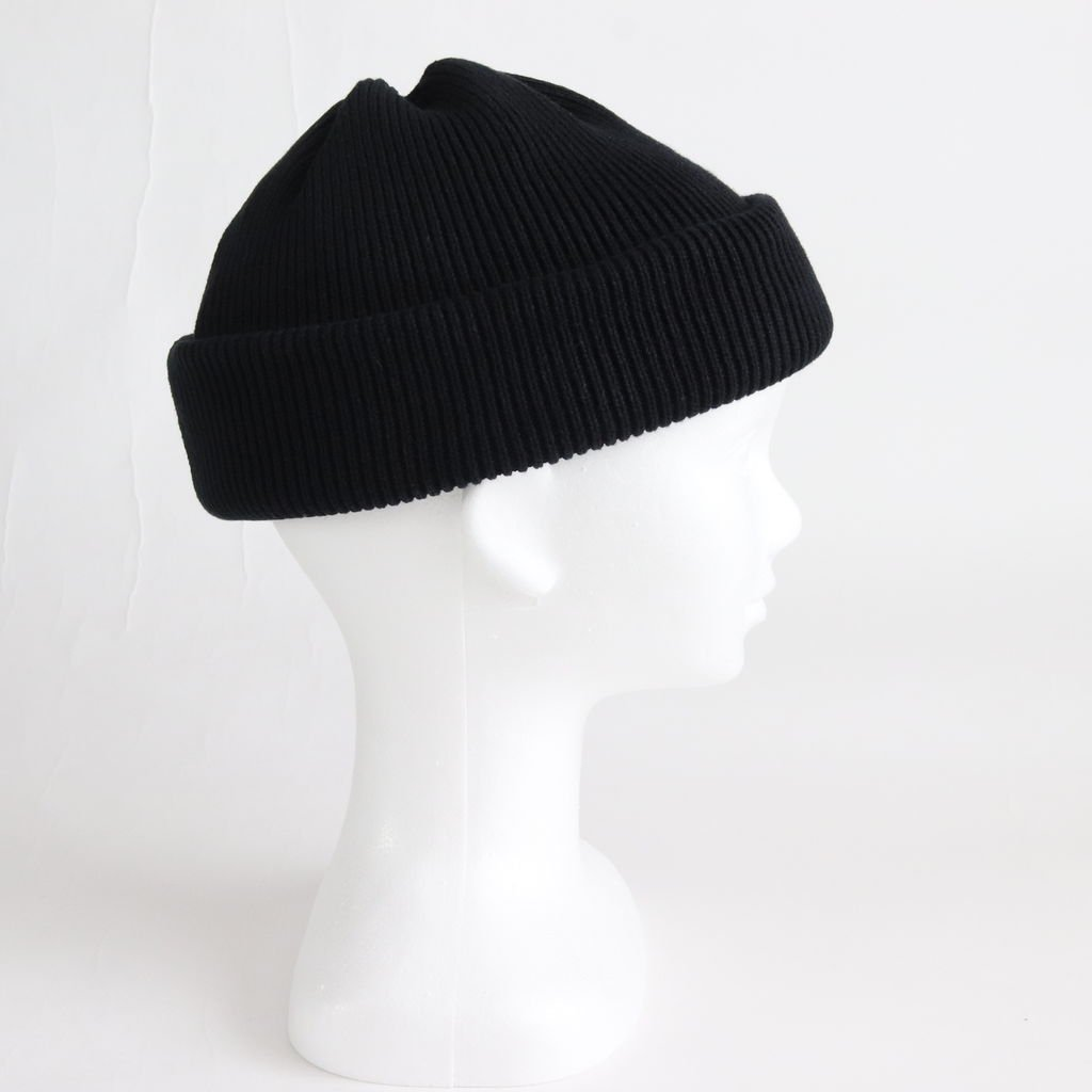 KNIT CAP 2 #BLACK [1901-009]