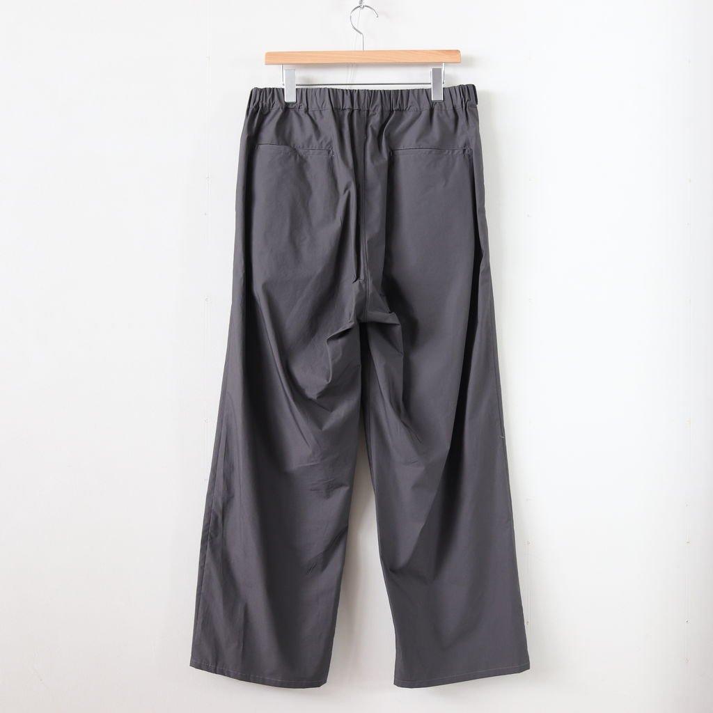 TYPEWRITER WIDE COOK PANTS #GRAY [GM191-40021B]
