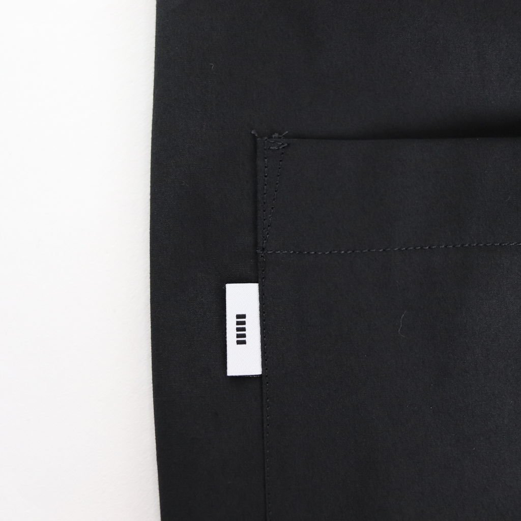 TYPEWRITER S/S BOX SHIRT #BLACK [GM191-50025B]
