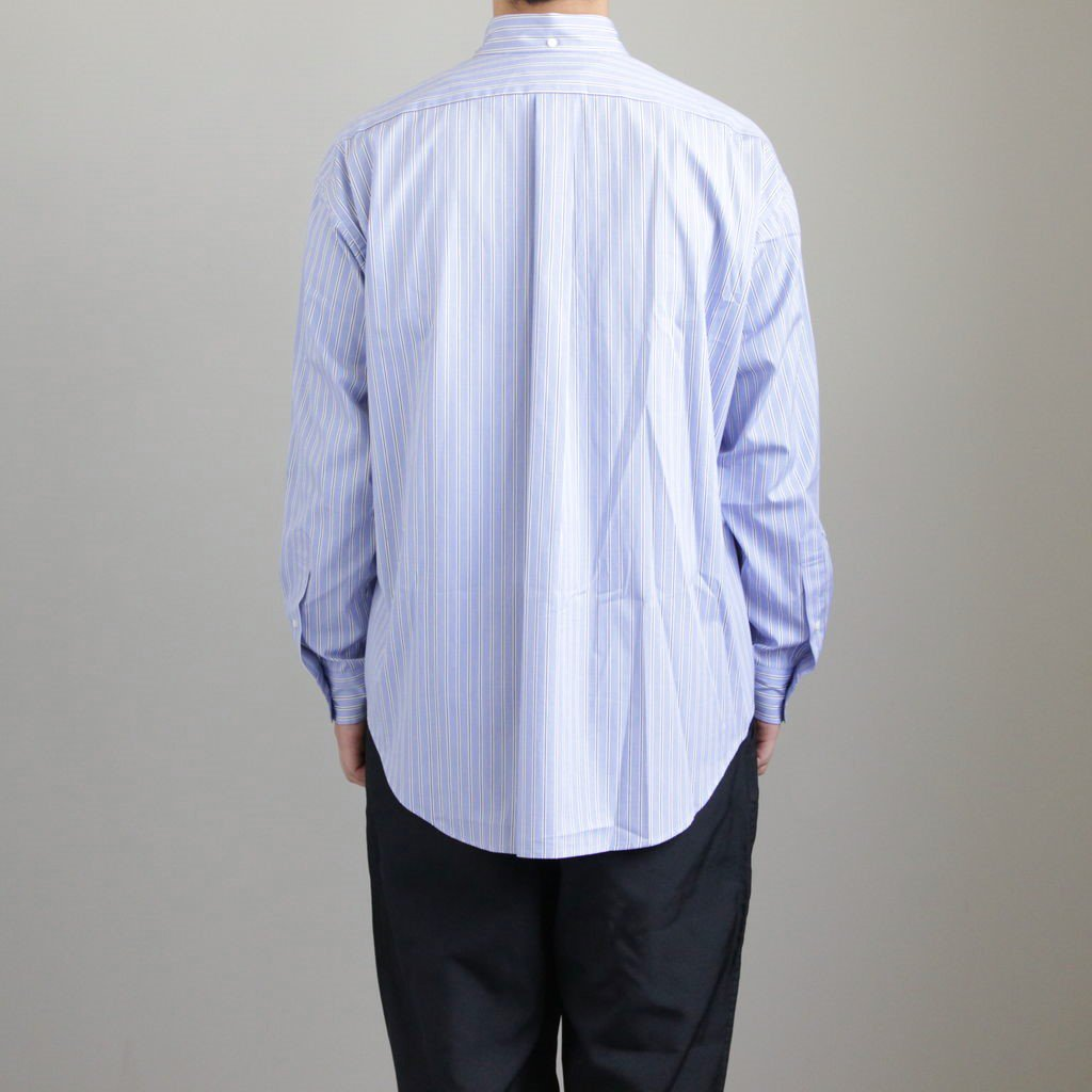 THOMAS MASON L/S B.D BOX SHIRT #SAX ST [GM191-50033B]