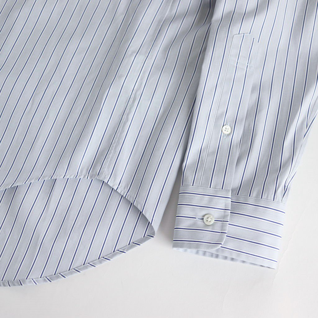 THOMAS MASON L/S B.D BOX SHIRT #GRAY ST [GM191-50033B]