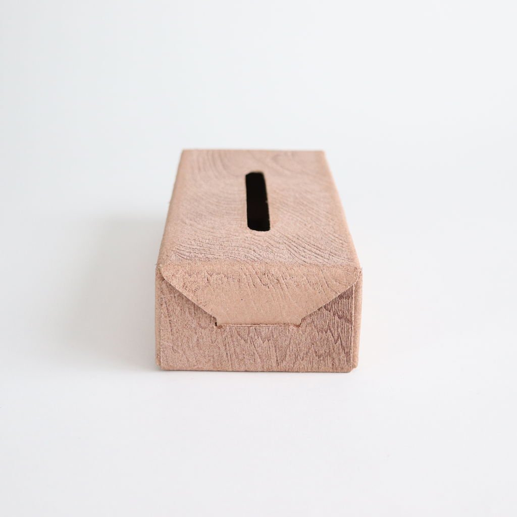 PLYWOOD TISSUE BOX CASE #WOOD [ACC-WH1]