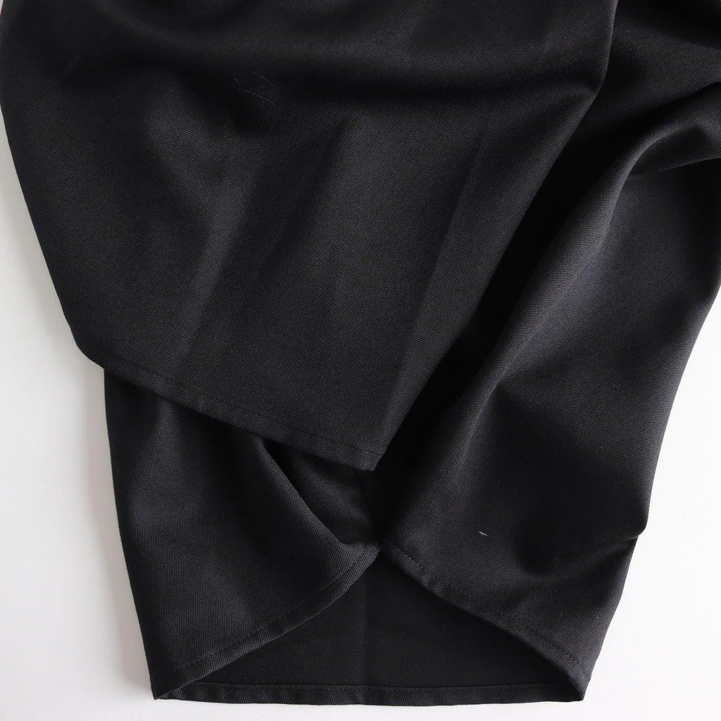 よそいきワイドサルエルPT #BLACK [D119-P123]