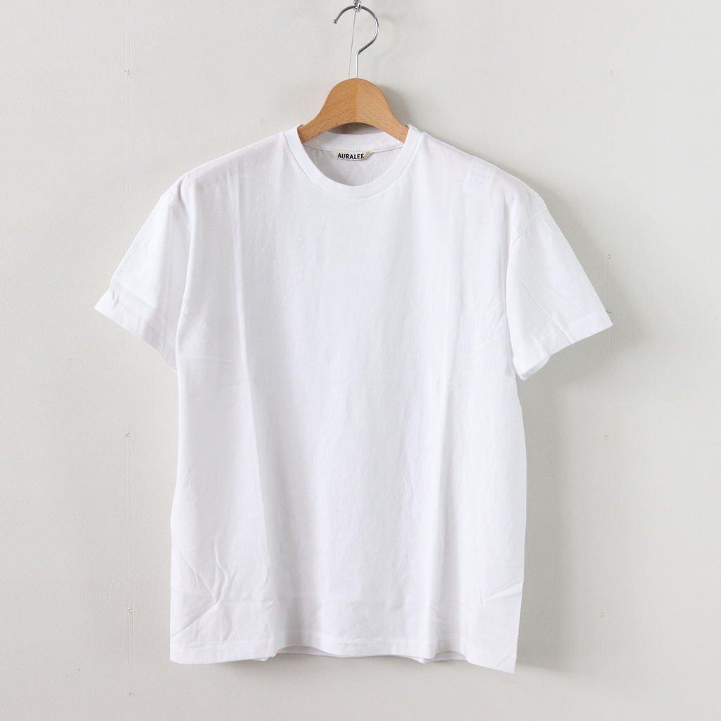 SEAMLESS CREW NECK TEE #WHITE [A00T01ST]