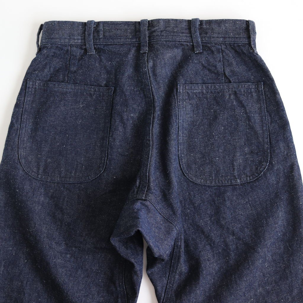 U.S.NAVY DENIM PANTS #INDIGO [79601]