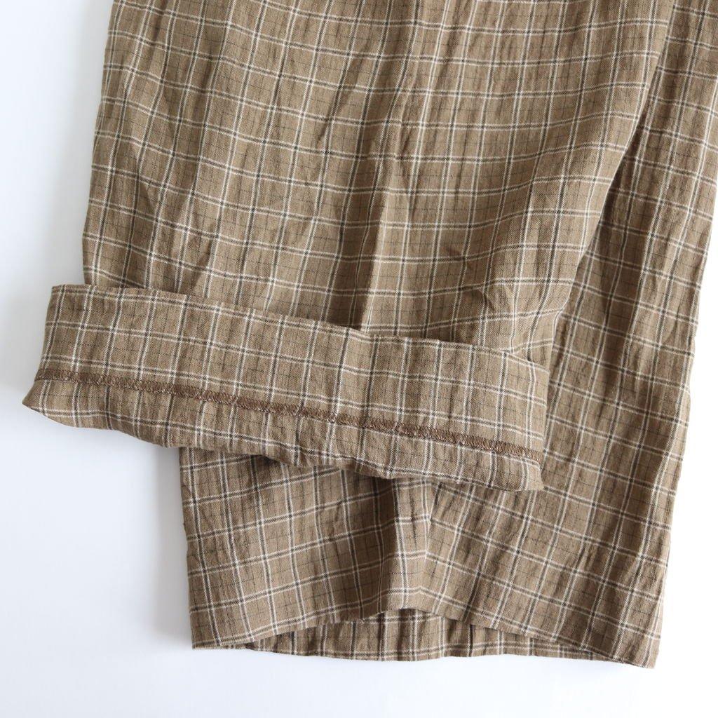 RIBBON PANTS #BROWN-CH [49615]