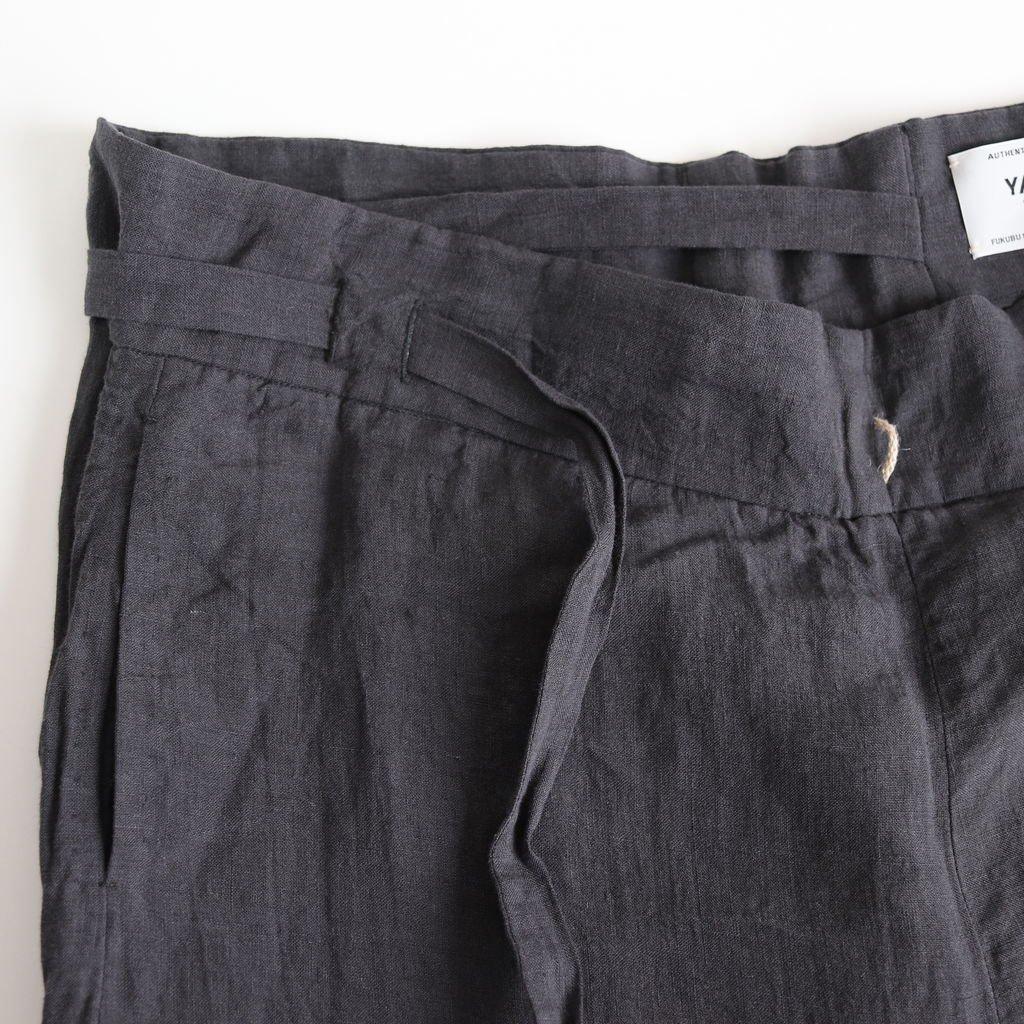 RIBBON PANTS #CHARCOAL [49615]