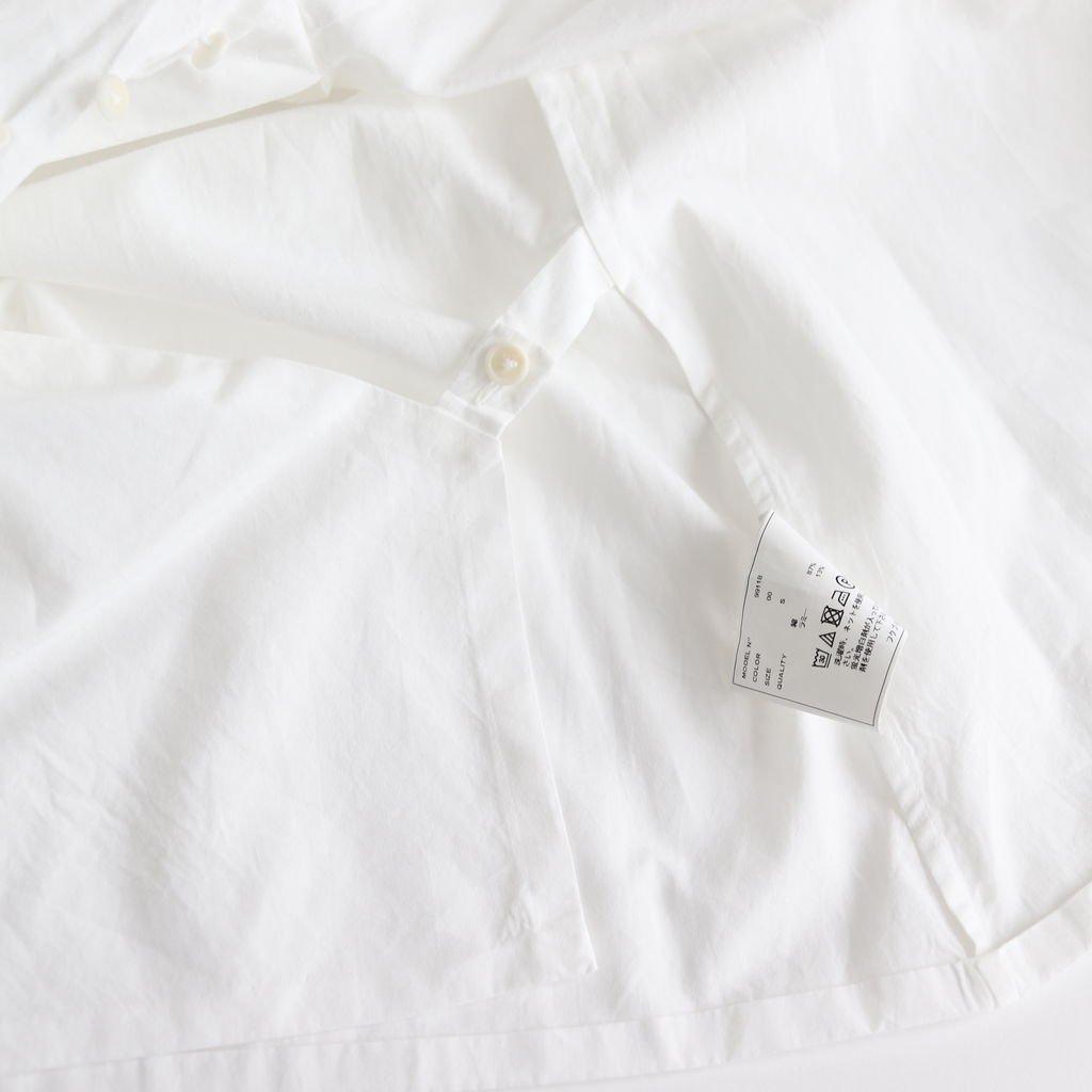 WRAP BLOUSE S/S #WHITE [99118]