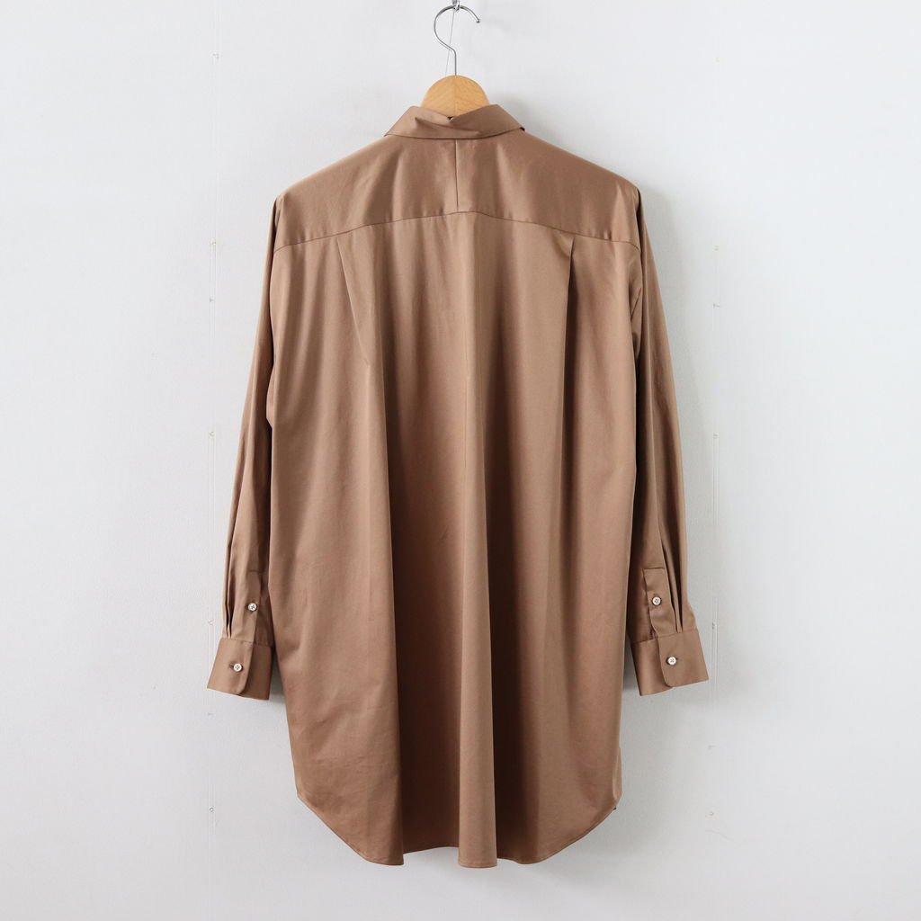 ヨークスリーブシャツ-C #LIGHT BROWN [D119-T510-C]