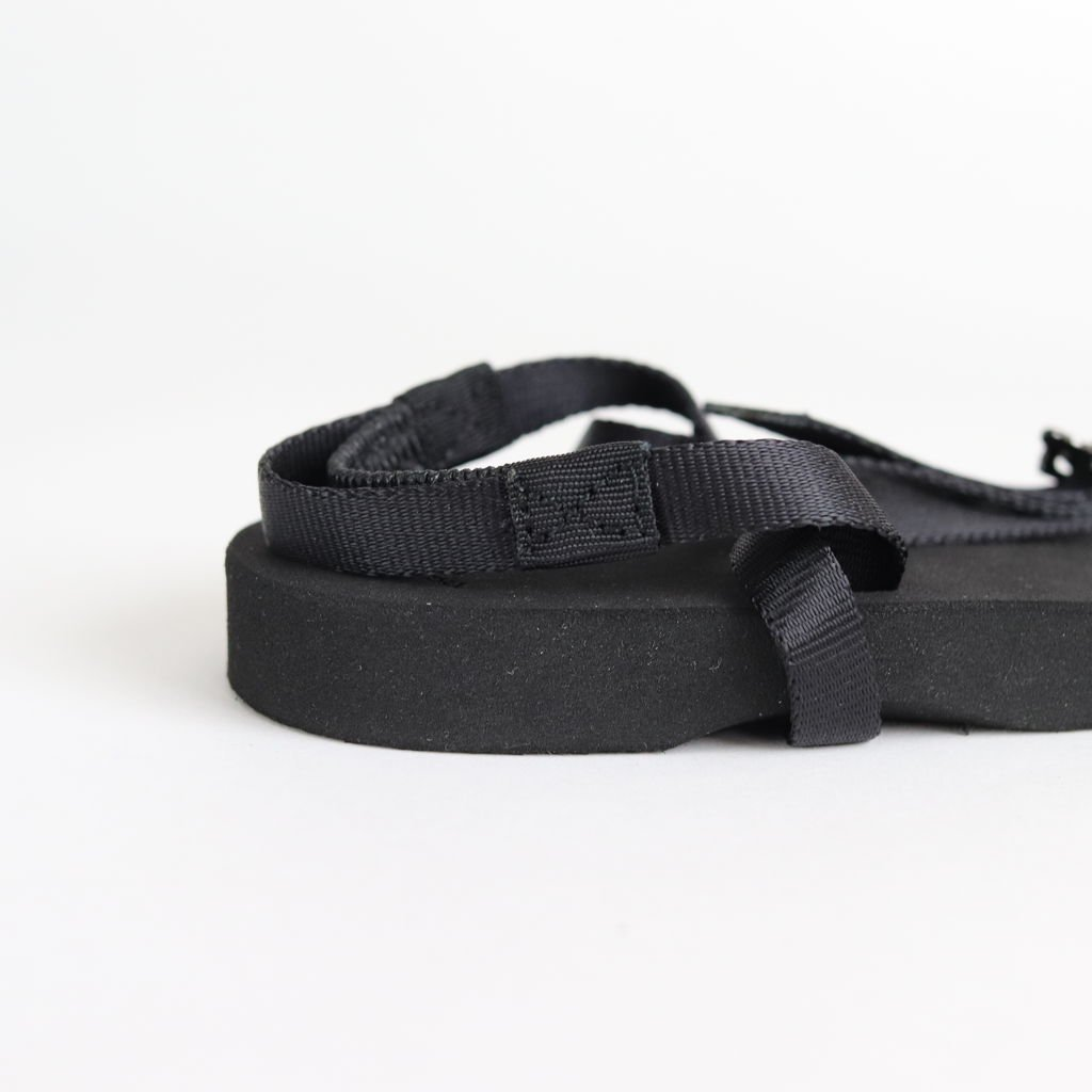 BAREFOOT SANDALS (THICK SOLE) #BLACK [BSS1812006]