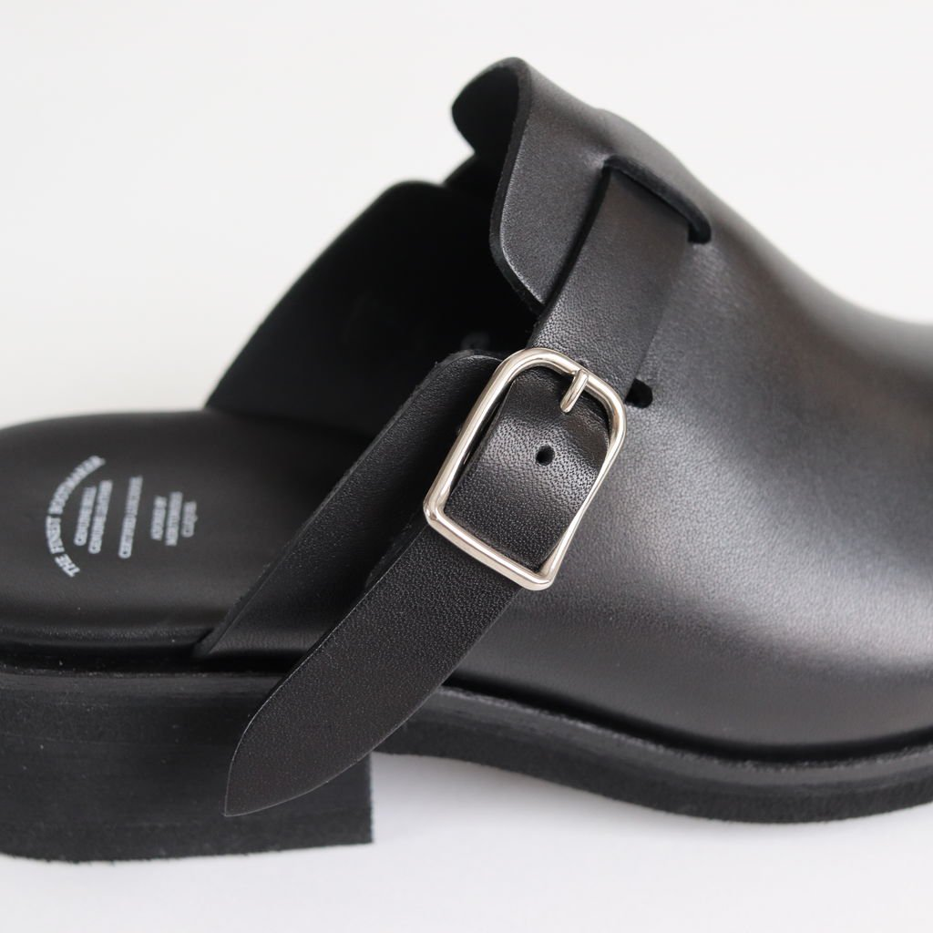 SLIP ON CLOGS #BLACK [BSS1912003]