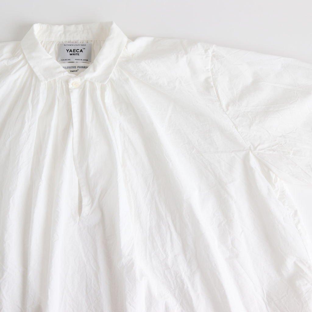 GATHER BLOUSE #WHITE [99111]