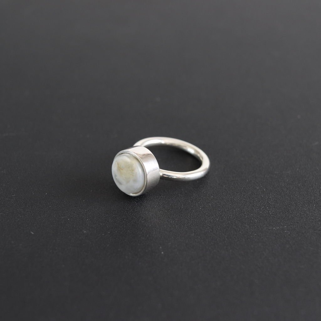 notok-11|RING - STONE.RESIN,SILVER925 #ONE
