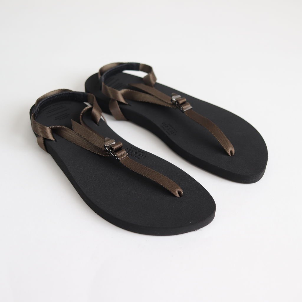 BAREFOOT SANDALS (THICK SOLE) #KHAKI [BSS1812006]