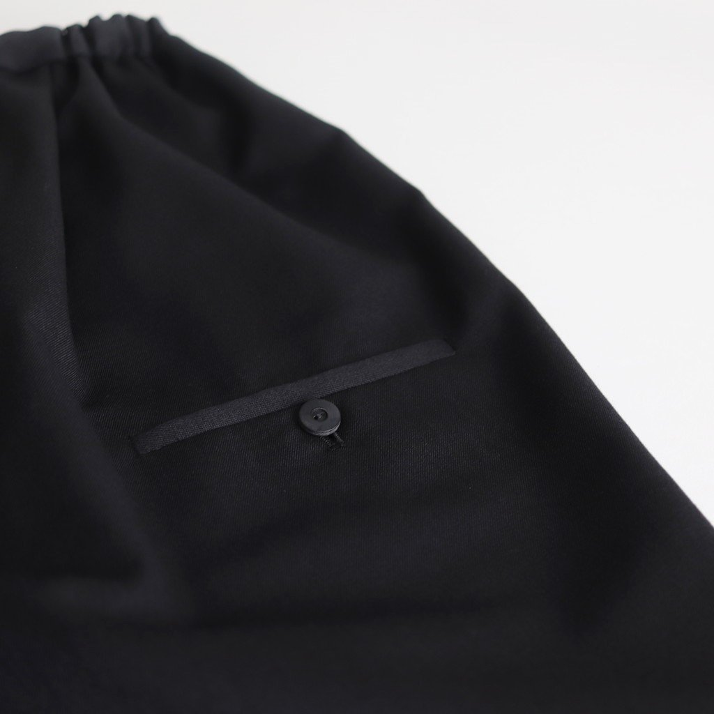 よそいきタックワイドPT #BLACK [D319-P103]