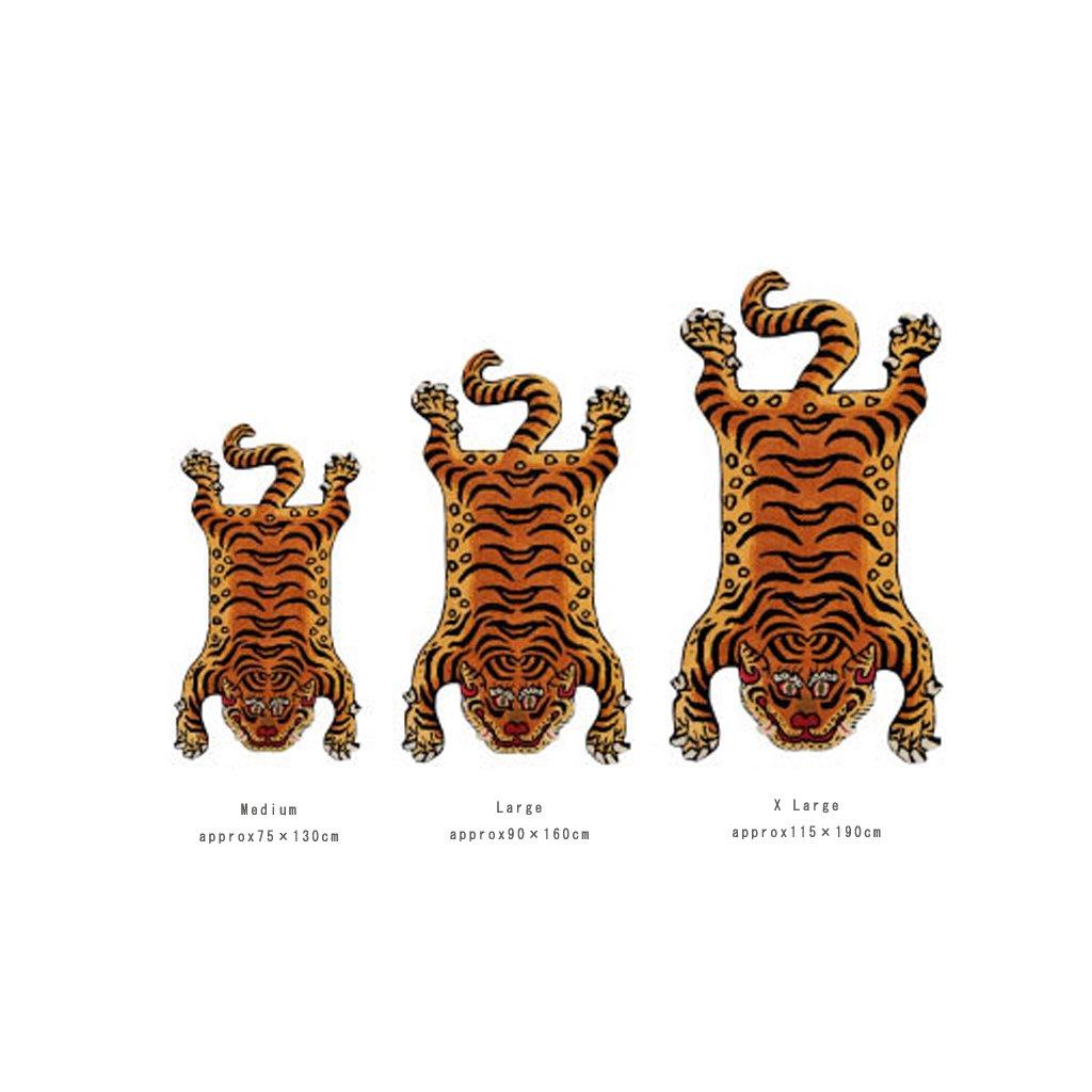 TIBETAN TIGER RUG DTR02/XLARGE #ONE [331602XL]