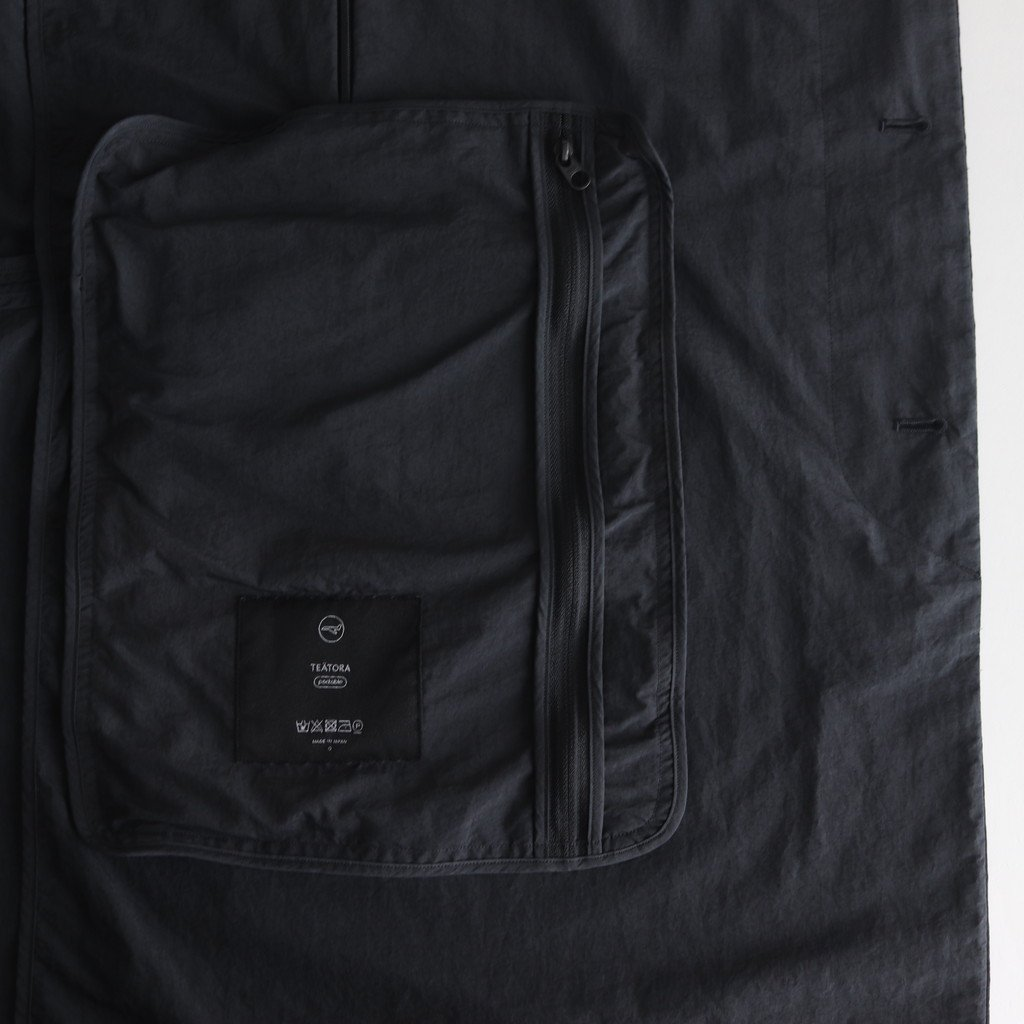DEVICE COAT PACKABLE #CHARCOAL [tt-102-P]