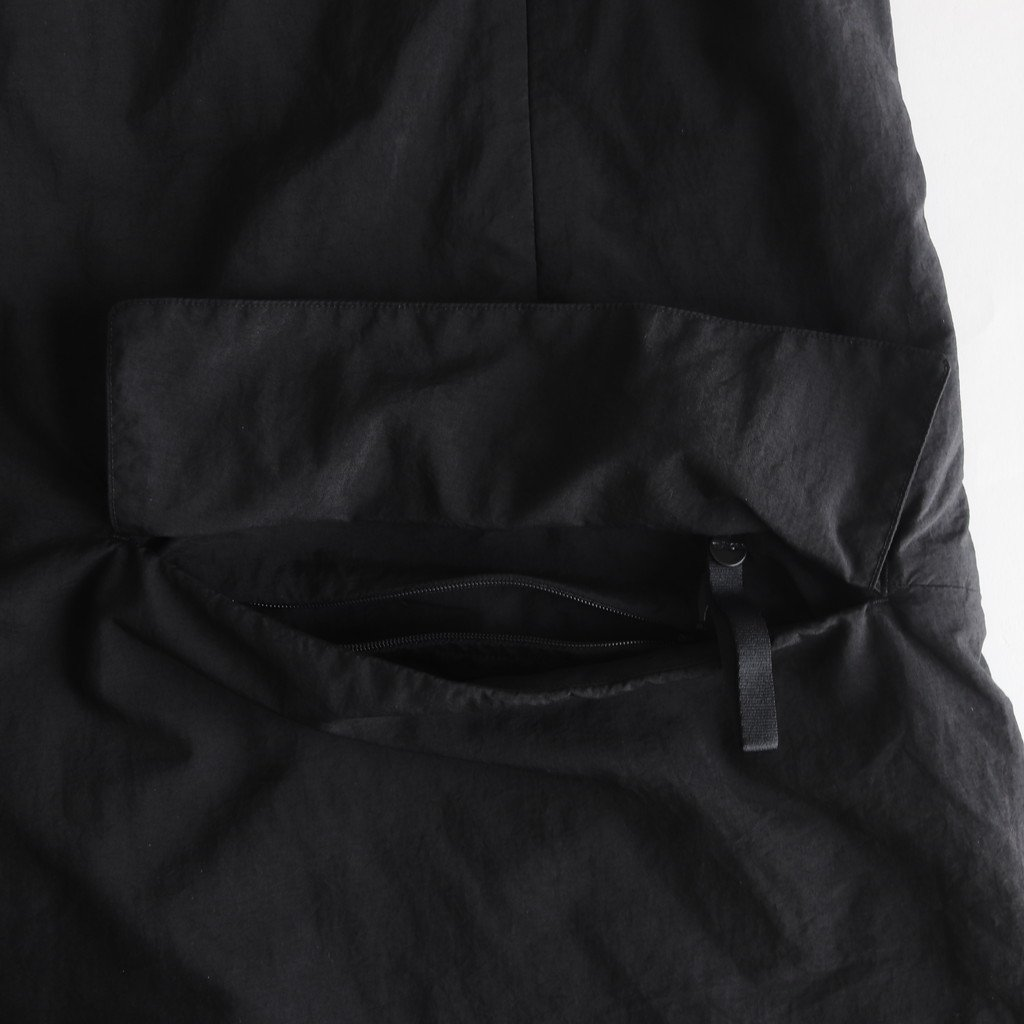 DEVICE COAT PACKABLE #BLACK [tt-102-P]