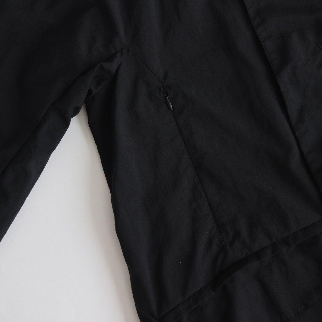 DEVICE COAT PACKABLE #BLACK [tt-102-P]