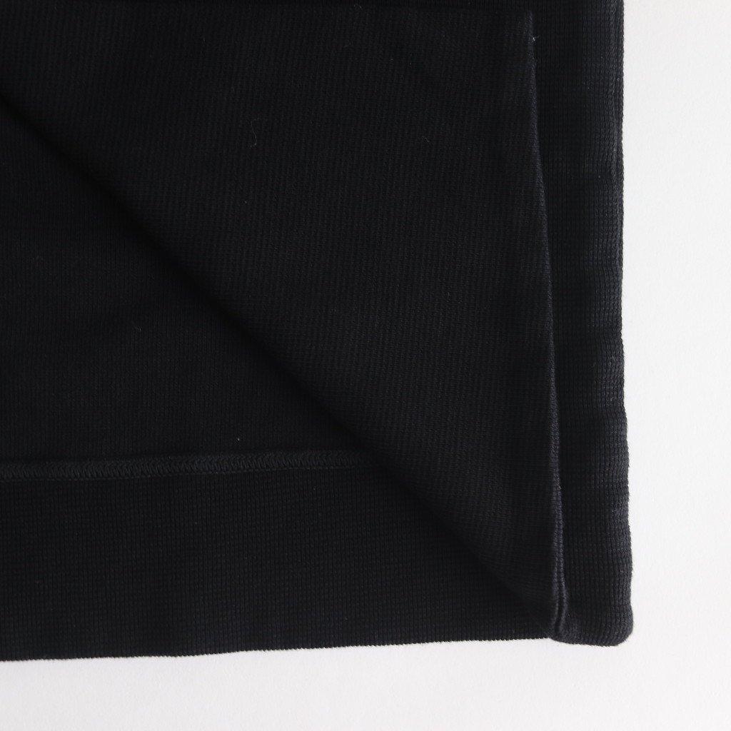 FSMTD|コットンカーディガンリブ ボタンレスカーディガン #BLACK [A9-FR023TD]