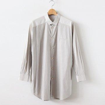 ヨークスリーブシャツ-M #MULTI [D219-T710-M] _ Dulcamara | ドゥルカマラ