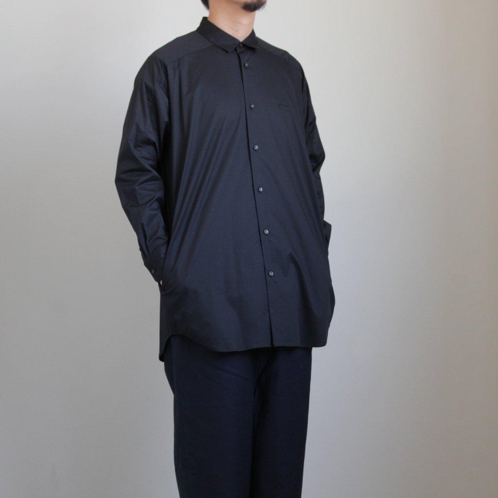 ヨークスリーブシャツ-P #BLACK [D219-T710-P]