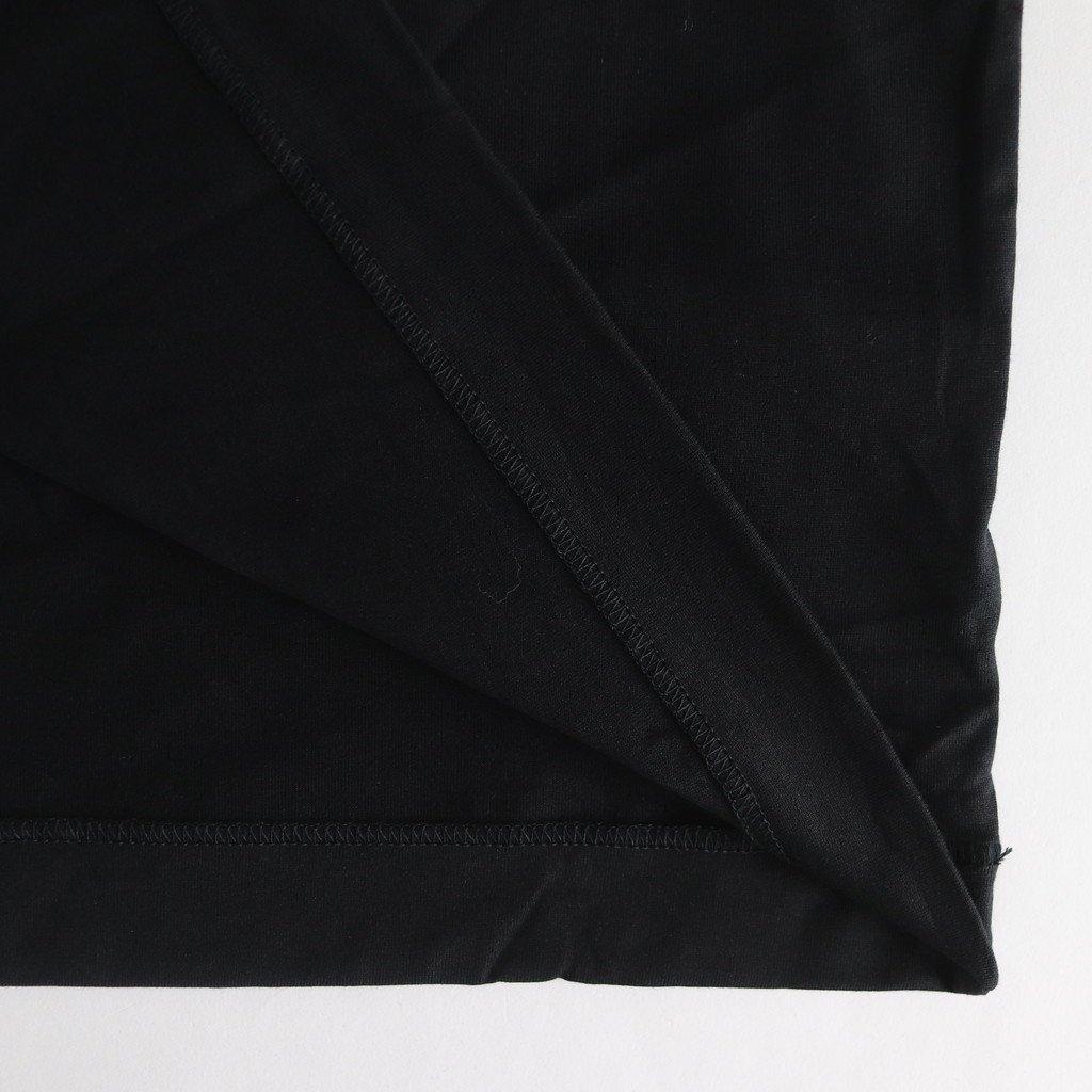 SUVIN 60/2 OVERSIZED LONGSLEEVE T-SHIRT #BLACK [KKAGKW0803]