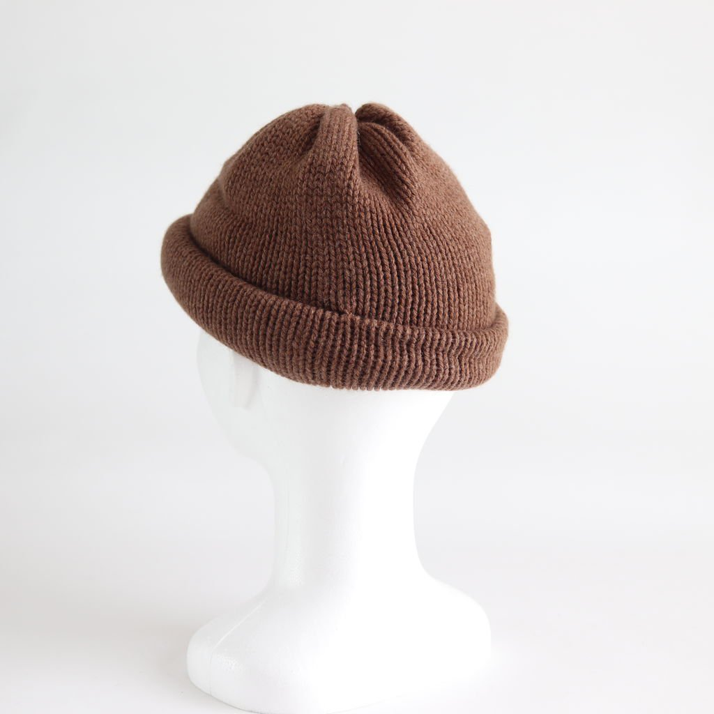 CASHMERE 100 ROLL KNIT #CAMEL [NO.15550]