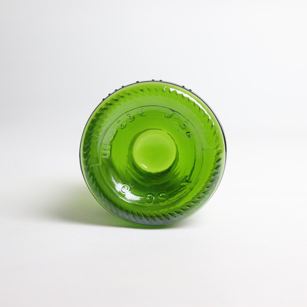 WINE PUNTS DRINKING GLASS #GREEN [IMP1-001-03]