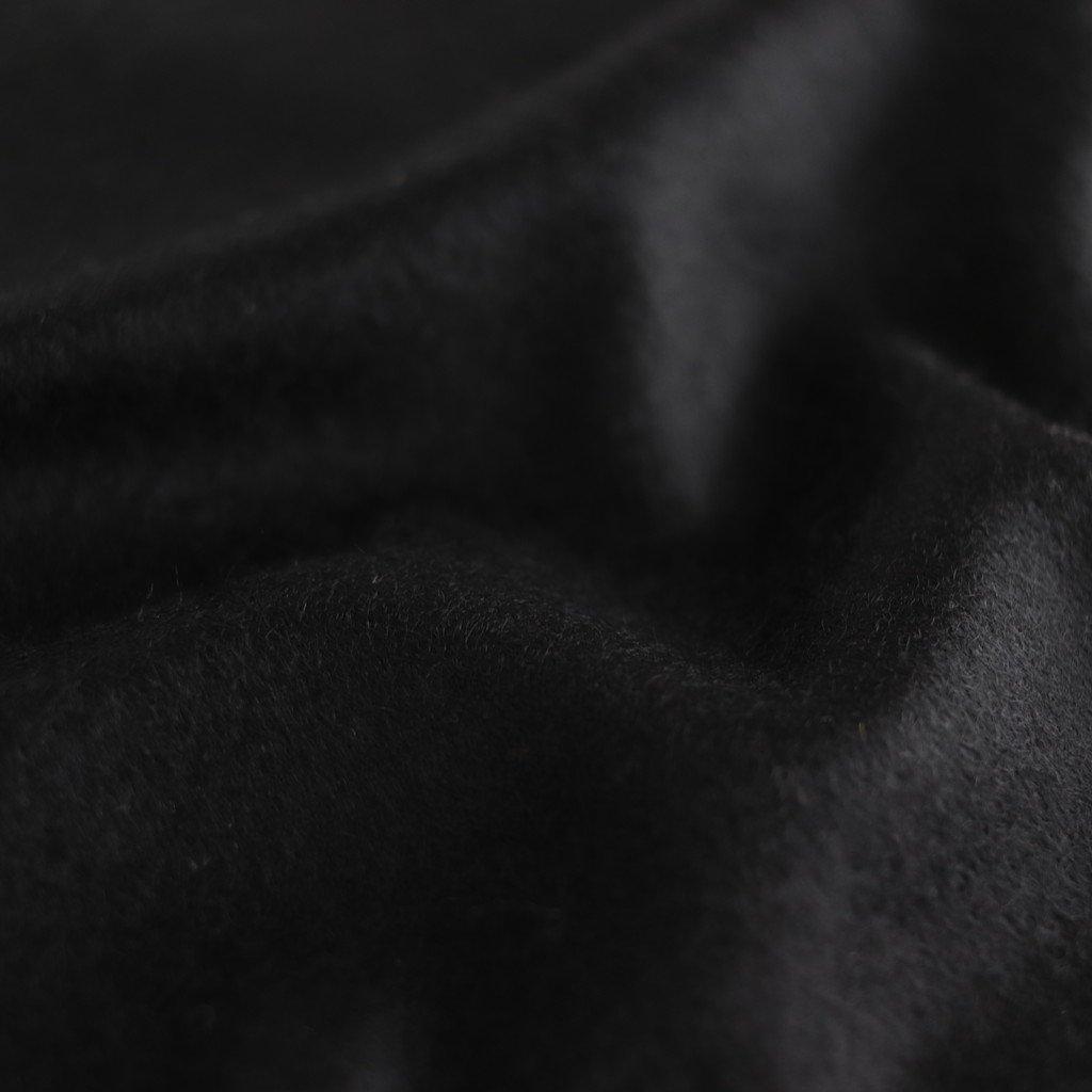 CASHMERE WIDE STOLE #BLACK [A9AM01CM]