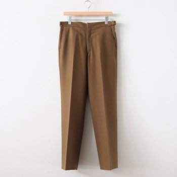 SUPER SOFT WOOL FLANNEL SLACKS #KHAKI OLIVE [A9AP03WF] _ AURALEE | オーラリー
