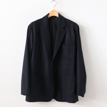 SUPER SOFT WOOL FLANNEL JACKET #BLACK [A9AJ01WF] _ AURALEE | オーラリー