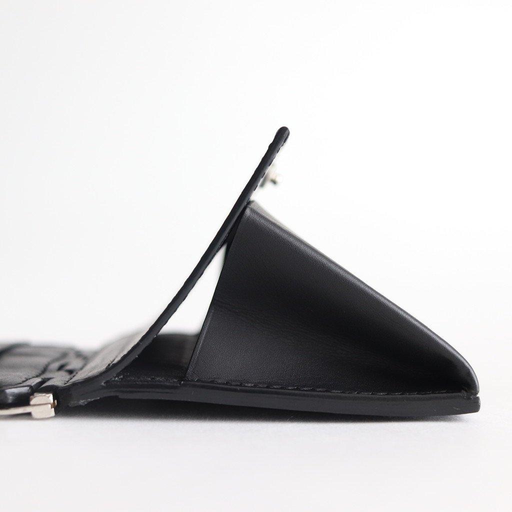 HINGE MINI WALLET #BLACK [B01FWL-27]