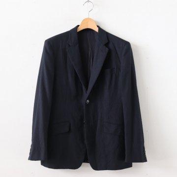 綿ウールサージ製品加工2Bジャケット #NAVY [HD-J021-051] _ COMME des GARCONS HOMME | コム デ ギャルソン オム